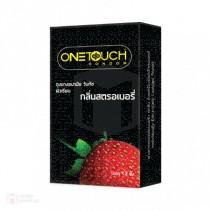 One Touch Strawberry (ผิวเรียบกลิ่นสตอเบอรี่ 12 ชิ้น)