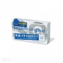 ถุงยางญี่ปุ่น Sagami Original 0.02 Quick box of 6