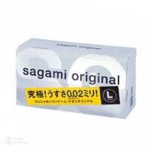 ถุงยางญี่ปุ่น Sagami Original 0.02 L-size box of 12