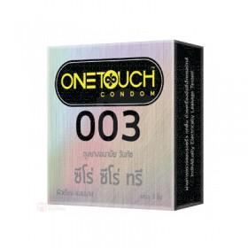 ถุงยางอนามัย One Touch 003 (003 แบบบางมาก)