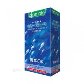 ถุงยางญี่ปุ่น Okamoto Beyond Seven box of 12